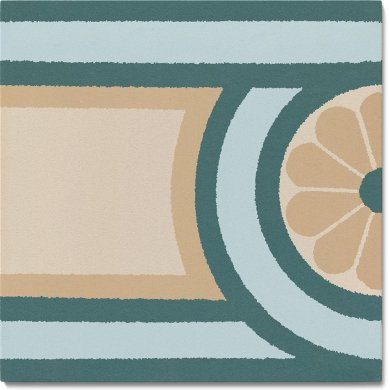 Stoneware tile SF 504 G