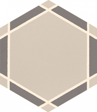 Hexagonal tile SF 1731 E