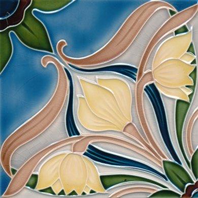 Art Nouveau tile F 197