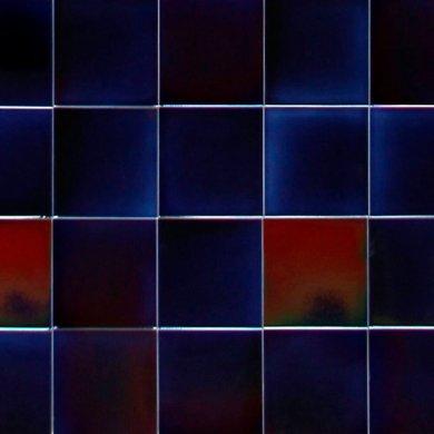 Wandfliesenspiegel, Patch-Art gestaltet von Sabine Heller WSH 256 (1,35 m²)