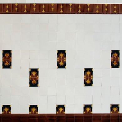 Wandfliesen, Fliesenspiegel für Küche  WSF 266 (4,5 m²)