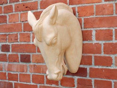 Pferdekopf unglasiert