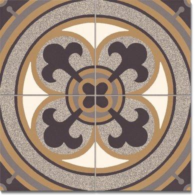 Steinzeugfliese SF 550 C  / Vierer-Set
