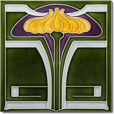 Carreau Art Nouveau F 26 V5