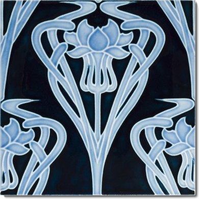 Carreau Art Nouveau F 69