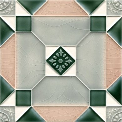 Art Nouveau tile F 171