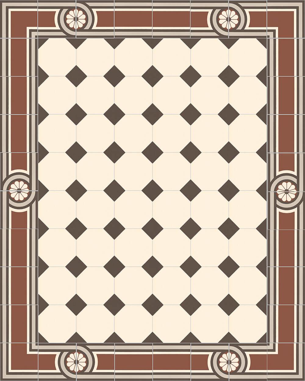 golem kunst und baukeramik gmbh verlegebeispiel sf 80a 1. Black Bedroom Furniture Sets. Home Design Ideas